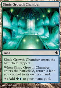 Simic Growth Chamber - MTG Commander