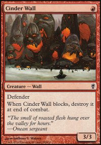 Cinder Wall - Conspiracy