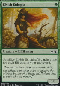 Elvish Eulogist - Duel Decks : Anthology