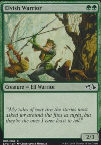 Elvish Warrior - Duel Decks : Anthology