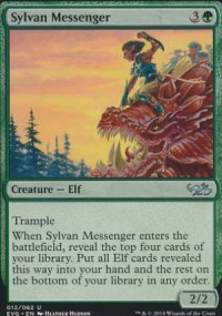 Sylvan Messenger - Duel Decks : Anthology