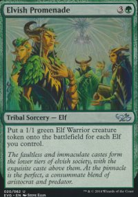 Elvish Promenade - Duel Decks : Anthology