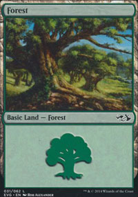 Forest 4 - Duel Decks : Anthology