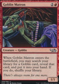 Goblin Matron - Duel Decks : Anthology