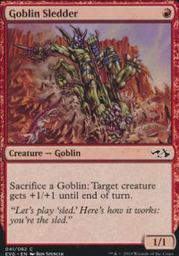 Goblin Sledder - Duel Decks : Anthology