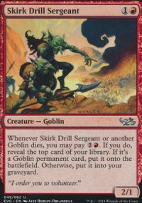 Skirk Drill Sergeant - Duel Decks : Anthology
