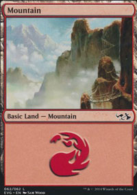Mountain 4 - Duel Decks : Anthology