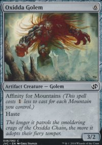 Oxidda Golem - Duel Decks : Anthology