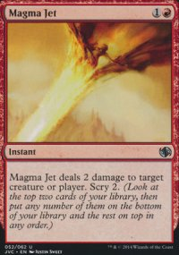 Magma Jet - Duel Decks : Anthology
