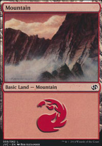 Mountain 5 - Duel Decks : Anthology