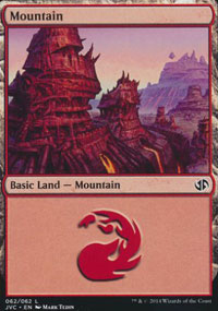 Mountain 8 - Duel Decks : Anthology
