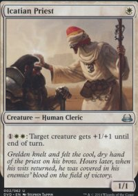 Icatian Priest - Duel Decks : Anthology