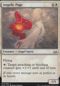 Angelic Page - Duel Decks : Anthology