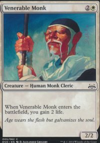 Venerable Monk - Duel Decks : Anthology