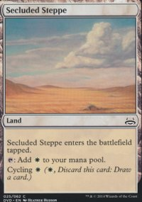 Secluded Steppe - Duel Decks : Anthology