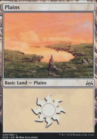 Plains 4 - Duel Decks : Anthology