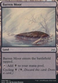 Barren Moor - Duel Decks : Anthology