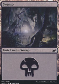 Swamp 3 - Duel Decks : Anthology