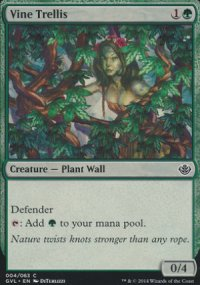 Vine Trellis - Duel Decks : Anthology