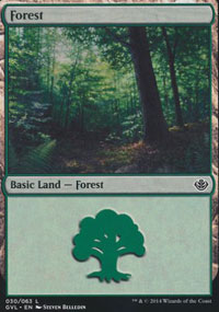 Forest 7 - Duel Decks : Anthology