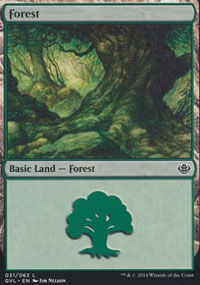 Forest 8 - Duel Decks : Anthology