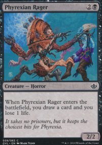 Phyrexian Rager - Duel Decks : Anthology