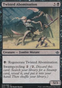Twisted Abomination - Duel Decks : Anthology
