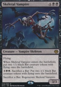 Skeletal Vampire - Duel Decks : Anthology