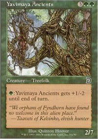 Yavimaya Ancients 1 - Deckmasters
