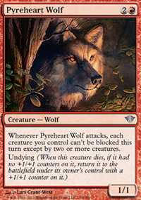 Pyreheart Wolf - Dark Ascension