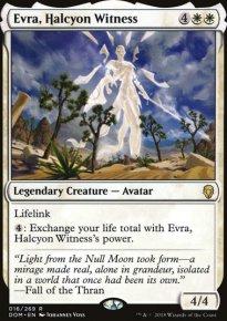 Evra, Halcyon Witness -