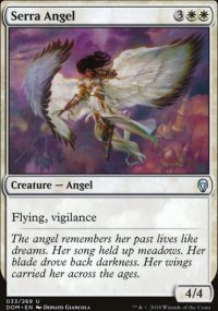 Serra Angel - Dominaria