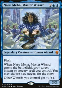 Naru Meha, Master Wizard -