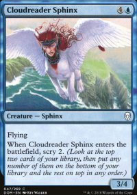 Cloudreader Sphinx - Dominaria