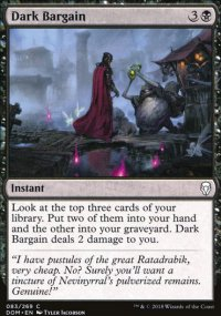 Dark Bargain - Dominaria