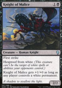 Knight of Malice - Dominaria