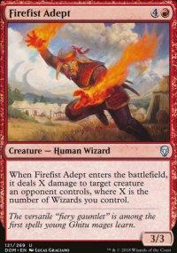 Firefist Adept -