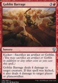 Goblin Barrage -
