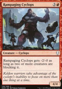 Rampaging Cyclops - Dominaria