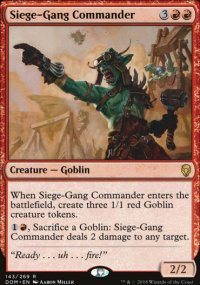 Siege-Gang Commander - Dominaria