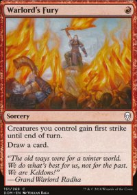Warlord's Fury -
