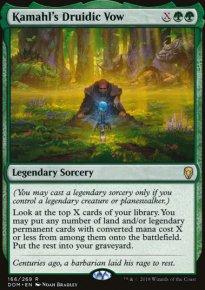 Kamahl's Druidic Vow -
