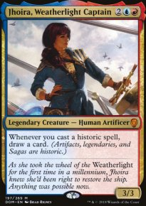 Jhoira, Weatherlight Captain - Dominaria