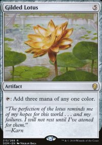 Gilded Lotus -