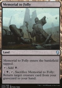Memorial to Folly - Dominaria
