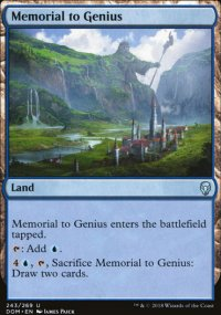 Memorial to Genius - Dominaria
