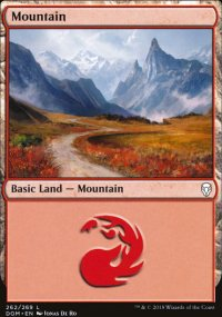Mountain 1 - Dominaria