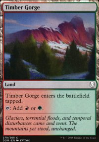 Timber Gorge - Dominaria