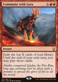 Commune with Lava - Dragons of Tarkir