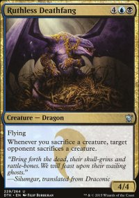 Ruthless Deathfang - Dragons of Tarkir